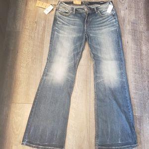 NWT Silver Akio Jeans